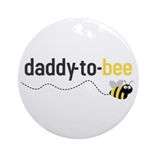 daddy to bee Ornament (Round)