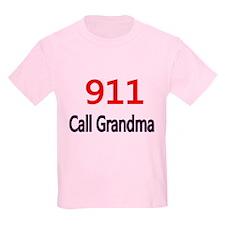 911 Call Grandma T-Shirt