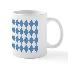 UNC Carolina Blue Argle Basketball Small Mug