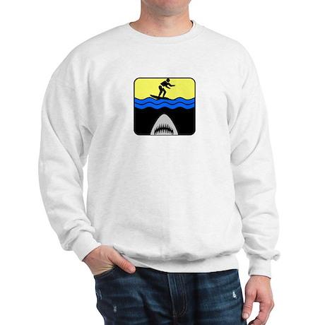 Surfing with Sharks Sweatshirt