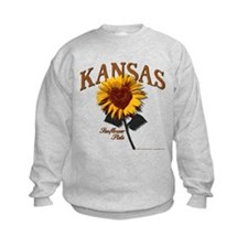 Kansas - The Sunflower State! Sweatshirt