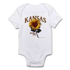 Kansas - The Sunflower State! Infant Bodysuit