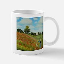 Poppy Field by Monet Mugs