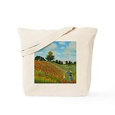 Poppy Field by Monet Tote Bag