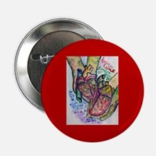 """Zombie Love Poem 2.25"""" Button"""