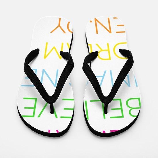 Bright ABIDE Flip Flops
