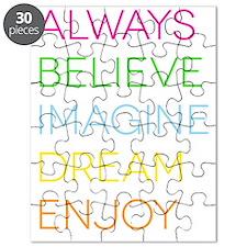 Bright ABIDE Puzzle