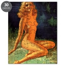 Erotic Nudity Illustrations Puzzle