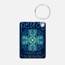 Peace - Theres got to be a Keychains