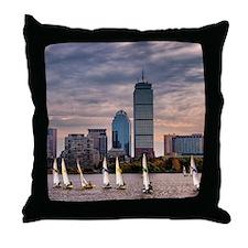 Boston , Massachussets Throw Pillow