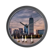 Boston , Massachussets Wall Clock
