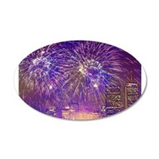 Boston, MA July 4th Firework Wall Decal