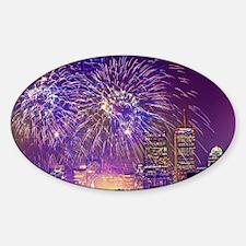Boston, MA July 4th Fireworks Decal