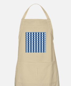 UNC Basketball Argyle Carolina Blue Apron