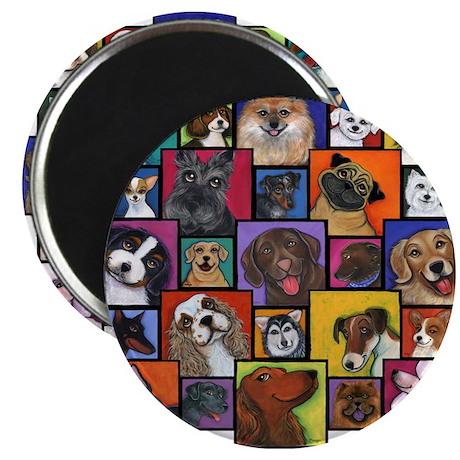 "I Love Dogs! 2.25"" Magnet (10 pack)"