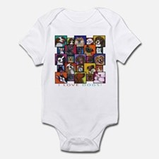 I Love Dogs! Infant Bodysuit