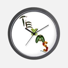 Texas Chilis Wall Clock