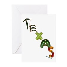 Texas Chilis Greeting Cards (Pk of 10)