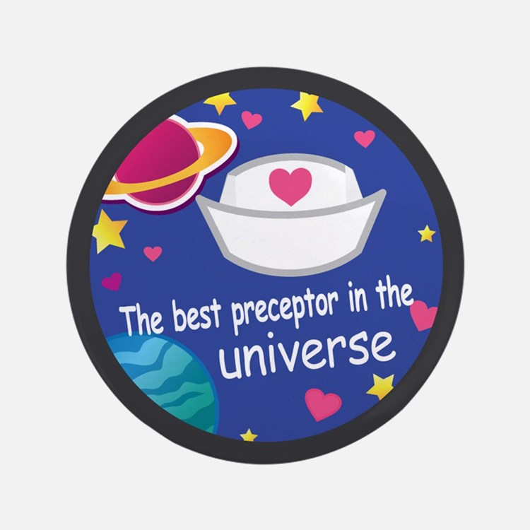 "Nurse Preceptor 3.5"" Button"