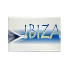 """Ibiza"" Rectangle Magnet"
