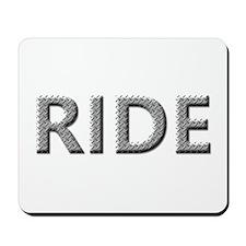 Diamond Plated RIDE Mousepad