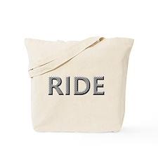 Diamond Plated RIDE Tote Bag