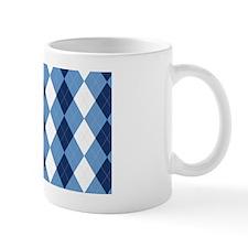 UNC Basketball Argyle Carolina Blue Mug
