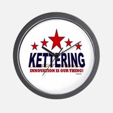 Kettering Innovation Is Our Thing Wall Clock