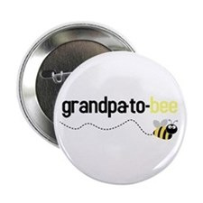 grandpa to bee Button