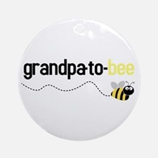 grandpa to bee Ornament (Round)