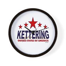 Kettering U.S.A. Wall Clock