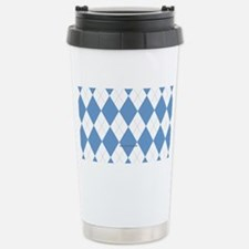 UNC Carolina Blue Argle Stainless Steel Travel Mug