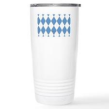UNC Carolina Blue Argle Travel Mug