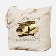 Proud sailor%27s wife Tote Bag