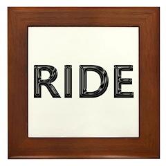 ride Framed Tile