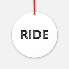 ride Ornament (Round)