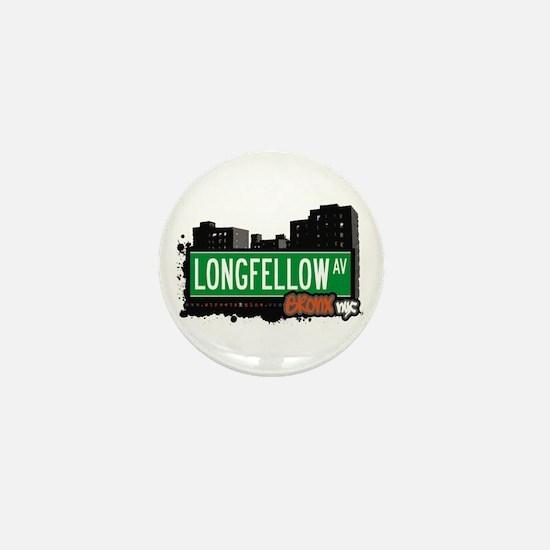 Longfellow Av, Bronx, NYC Mini Button