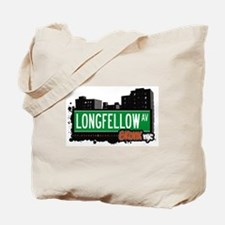 Longfellow Av, Bronx, NYC  Tote Bag