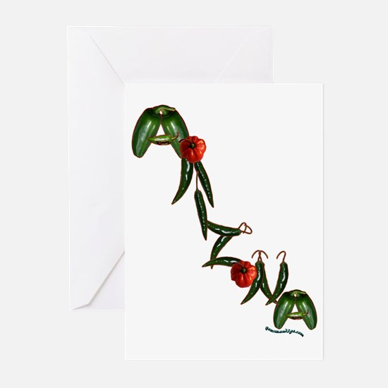 Arizona Chilis Greeting Cards (Pk of 10)