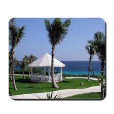 Tropical Gazebo Mousepad