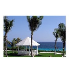 Tropical Gazebo Postcards (Package of 8)