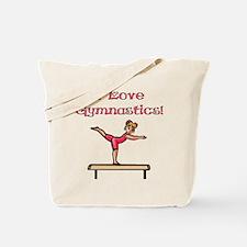 I Love Gymnastics Tote Bag