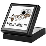 Time to Kill me Some Bears! (Oregon Trail) Tile Bo