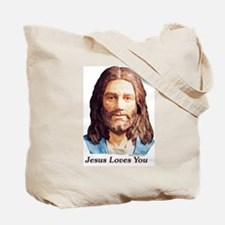 WWJRD What Would Jesus Really Do Tote Bag