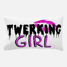Twerking Girl Pillow Case