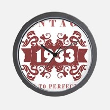 1933 Vintage (old-fashioned) Wall Clock