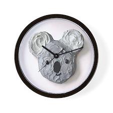 """Vegetarian Delights"" Book Koala Wall Clock"