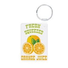 Fresh Squeezed Orange Juic Keychains