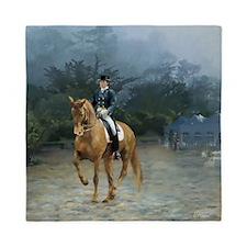 PB Piaffe Dressage Horse Queen Duvet