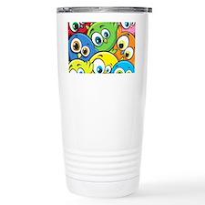 Cute Cartoon Birds Travel Mug